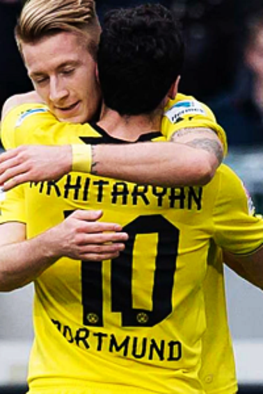 Hanovre 96 - Borussia Dortmund (22/03/2014)