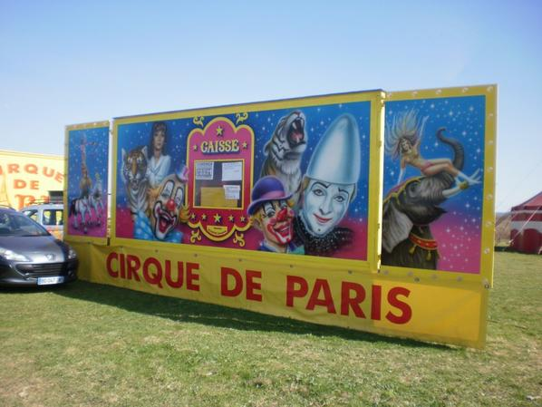 cirque de PARIS