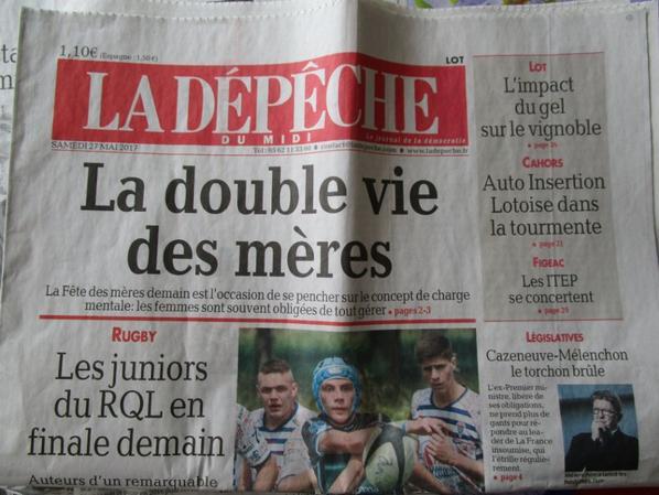 Le salon , dans la presse !!!