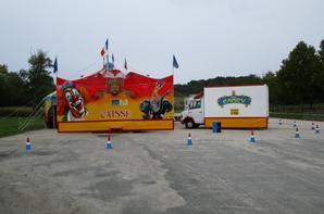 Cirque CANCY commune LE VIGAN , le 1 er octobre 2017, les véhicules !!!
