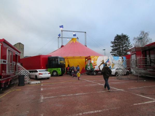 Dimanche visite au cirque !!!