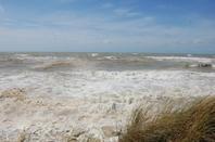 Le 62  Etaples et Les grandes marées à Sainte Cécile
