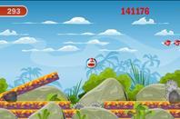 Doraemon bouncing