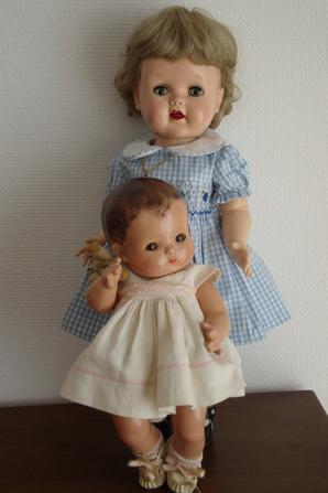 Patsy baby d'effanbee...Un adorable bébé !    elle porte sa petite robe et ses chaussures d'origines.