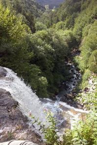 La cascade de l'Eventail!!!