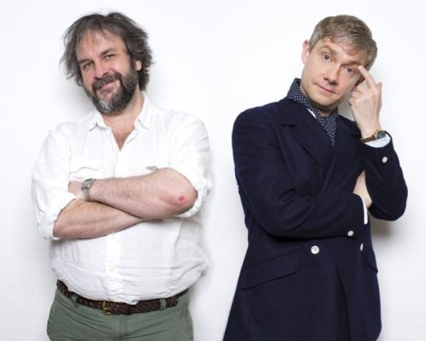 Martin Freeman et Peter Jackson - Cinema Today (Japon)