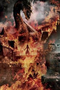 Bannière officiel du Hobbit : La bataille des cinq armées