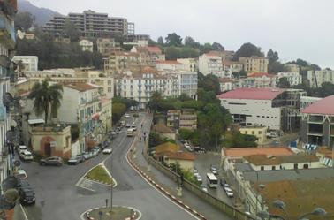 un jardin de la ville de Setif-Algerie