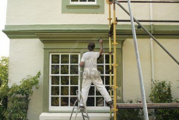 revetement des murs interieur et exterieur en peinture (griffé,satiné,lavable,la laque,mouchté,stico...