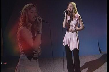 """JENNY....lors de son passage sur """"""""Télé Gohelle""""""""en 2004..."""