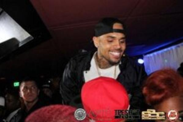 Chris Brown était au Axis club le 9 mai