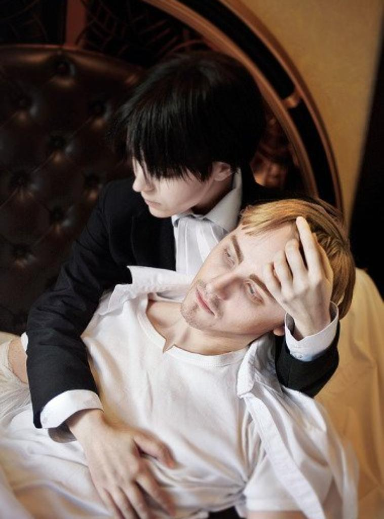 Super beau cosplay de Erwin et moi