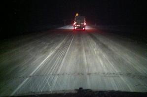 Nos auditeurs sous la neige !