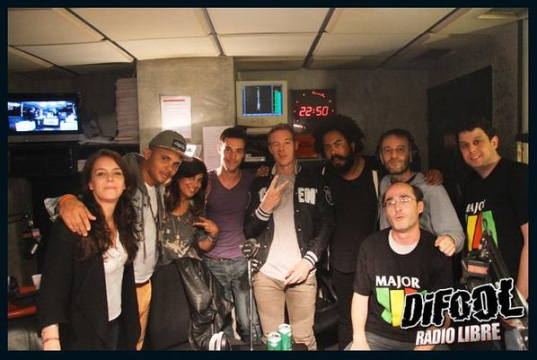 Major Lazer dans la Radio Libre