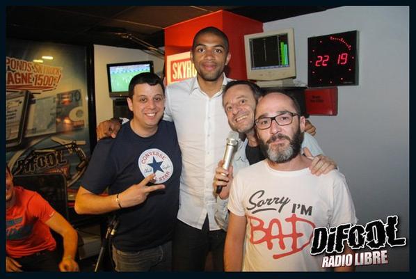 Nicolas Batum dans la Radio Libre de Difool