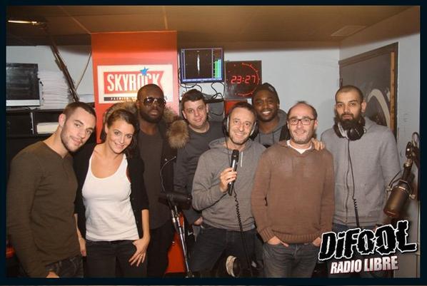 Maitre Gims et Mac Tyer dans la Radio Libre de Difool !