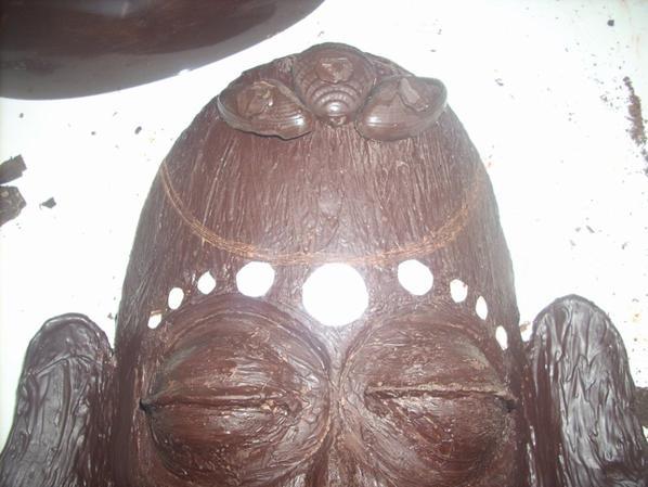 sculture chocolat