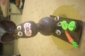sculpture chocolat 2