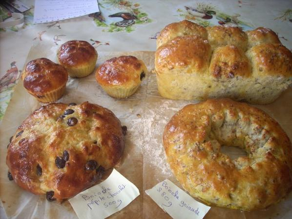brioche et pain au lait 2