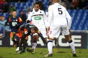 Maillot porté en coupe de France par Cedric KANTE à Montpellier le 23 Janvier 2012