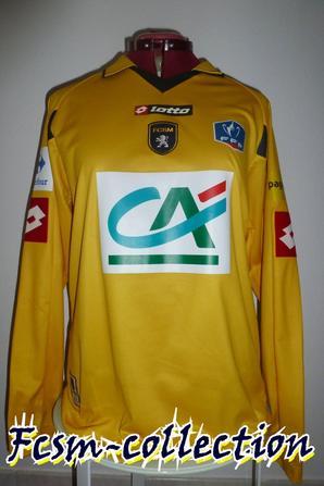 Maillot porté par Nicolas Maurice-Belay le 21/01/2011 contre Paris FC en coupe de France