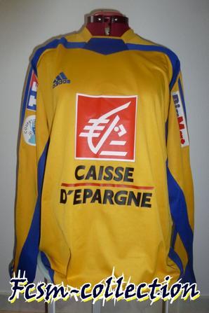 Maillot porté par Jérémy MENEZ en Coupe de France contre Bastia le 08/01/2005