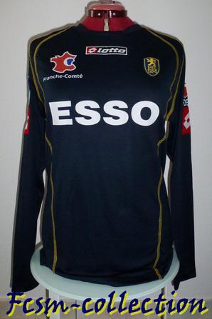Maillot porté par Jérémy MENEZ saison 2004/2005 third