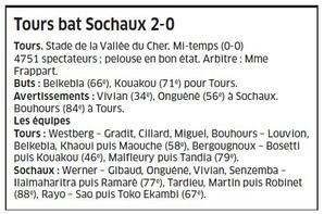 Maillot porté Tours / Sochaux 2ème tour coupe de la ligue le 25/08/2015