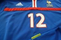 Maillot porté par Thierry Henry France/Slovénie le 26.04.2000