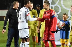 Maillot porté par Adolphe Teikeu lors de Dijon/Sochaux le 12/02/2016