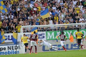Maillot porté par Olivier Werner contre le FC Metz le 07/08/2015