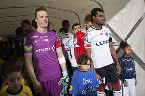 Maillot préparé pour Papa Camara contre le Paris FC le 22/01/2016