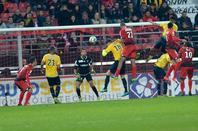 Maillot porté par Christopher Dilo le 26/10/2016 à Dijon 16ème coupe de la ligue