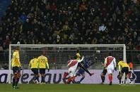 Maillot porté 1/4 de finale coupe de la ligue contre Monaco le 10/01/2017