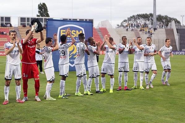 Maillot porté sur le banc par Papa Camara en coupe de la ligue à Tours le 25/08/2015