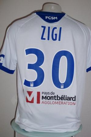 Maillot porté par Ati Zigi contre Tours le 16/03/2018