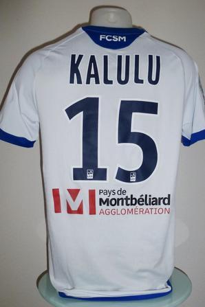 Maillot porté par Aldo Kalulu à Quevilly le 04 Aout 2017