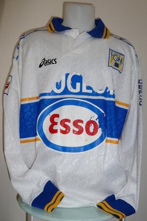 Maillot porté par Maxence Flachez saison 1997/1998