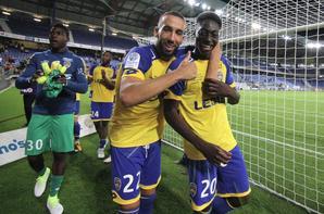 Maillot préparé pour le gardien remplacant Ati Zigi contre Lens le 12/08/2016