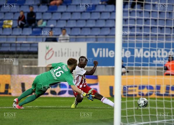 Maillot porté par Maxence Prévot contre Ajaccio le 22/09/2016