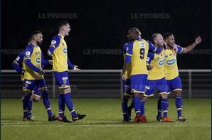 Maillot porté contre Villefranche 7ème tour coupe de France le 11/11/2017