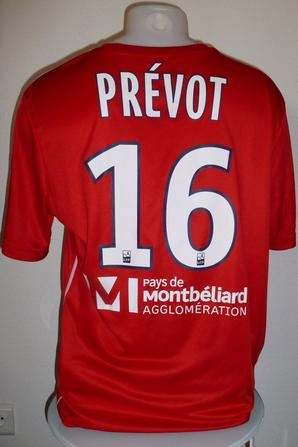 Maillot porté par Maxence Prévot contre Valenciennes le 28/11/2017