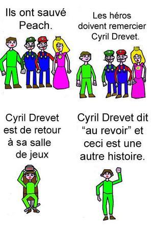 Cyril Drevet dans le monde de SMB