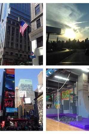 Twiter M Pokora retour de NYC