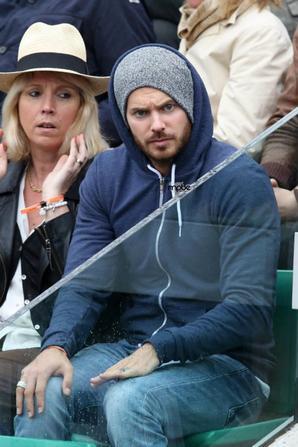 M Pokora à Roland Garros