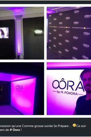 Ce Soir c'est le lancement de OÔRA