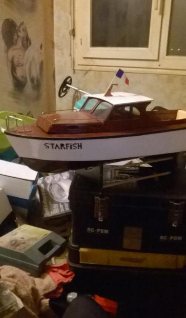 mon nouveau bateau