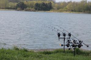 première sesion en lac de l'année premier poisson en lac
