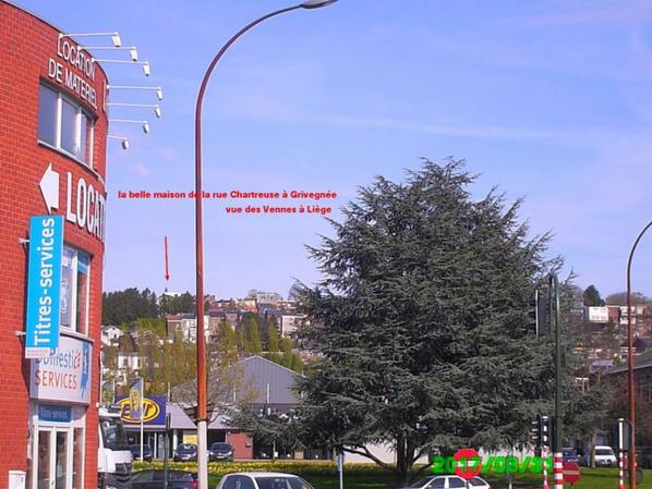 Les Vennes et Grivegnée à Liège