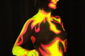 body painting avec estelle